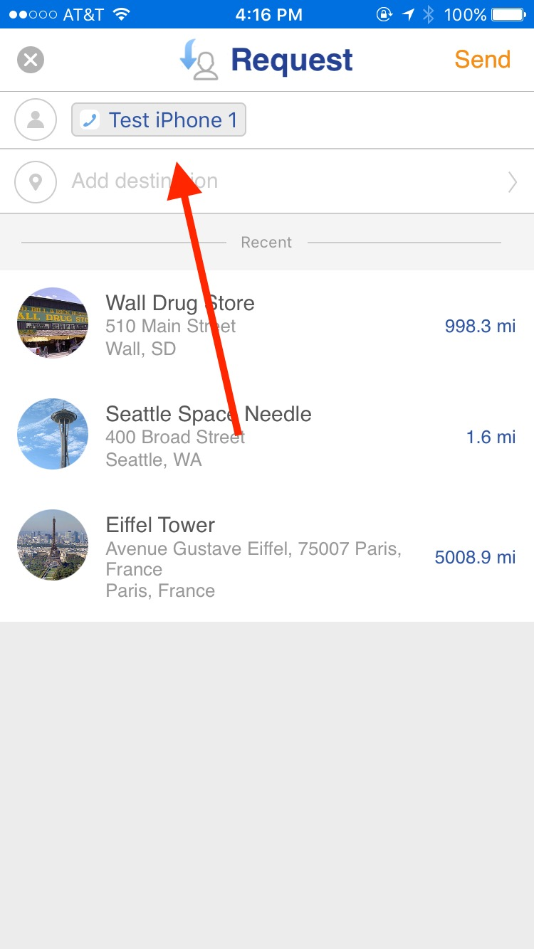 How to Request Location: iOS – Glympse Support