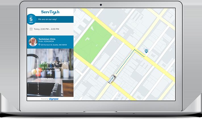 What is Glympse En Route Client App? – Glympse Support